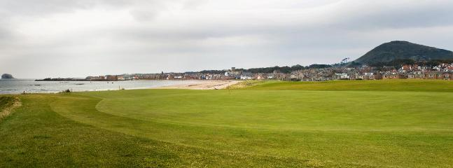 East Lothian golf courses - only half an hour's drive away