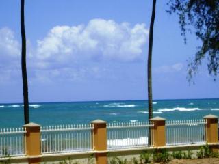 Beachfront gated community