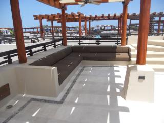 Upstairs rooftop