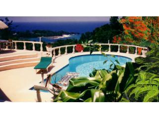 BEAUTIFUL BLUE CARIBBEAN SEA VIEWS. PRIVATE 5 ACRE STAFFED ESTATE-RATE DISCOUNT*, Port Antonio
