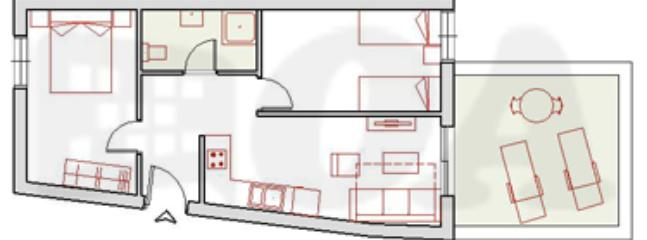 Apartment MALAGA Floor Plan