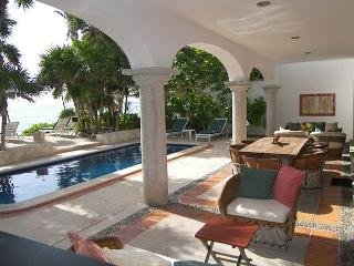 Los Primos is the best ocean front villa w/pool, in a secure gated community, Akumal