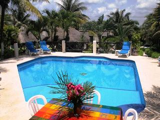 Sea Gate, oceanfront villa located in the heart of Akumal