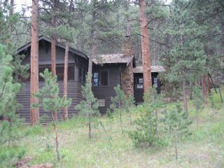 Private, hot tub, views, by river, walk to town, Estes Park