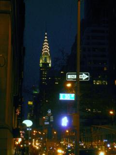 The Chrysler Building NYC Art Deco Skyscraper photo taken from East 30th St looking North