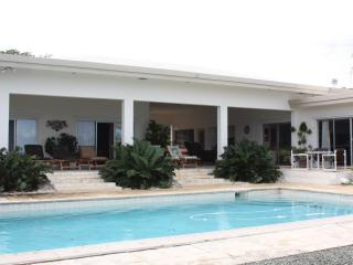 Beachfront house dock pool privacy luxury