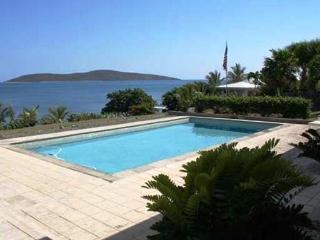 Beachfront house dock pool privacy luxury Christiansted St Croix Virgin Islands