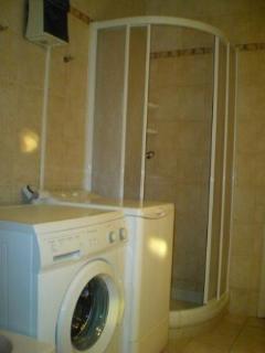 Shower-Washing Machine-Tumble Dryer
