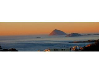 Dawn over Copacabana and Ipanema.  - Why stay in a Hotel?