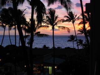 Another Beautiful Sunset from the Lanai