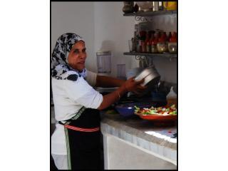Our housekeeper Khadija.