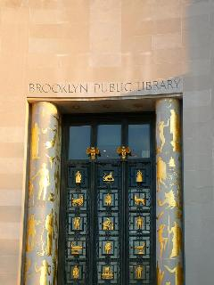 Two subway stops or 20 minute walk to Brooklyn Central Library
