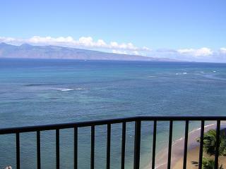 View of Molokai from 1009 Lanai
