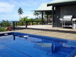 Pool and main deck.