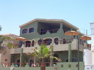 Front of the house facing the ocean