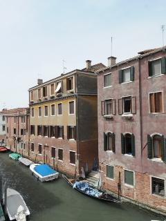 The canal view