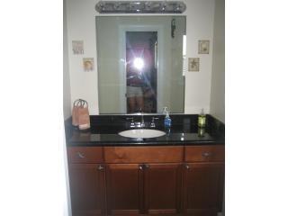 Master badkamer met douche en Europees orgaan stralen