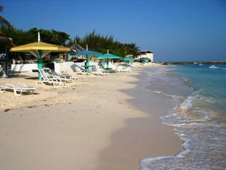 The beach beautiful white sand clean clear warm caribbean ocean .. waiting for you  to enjoy !!