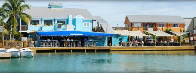 Hurricane Hole Marina with Bar and Grill - the local's favorite and walking distance from the condo.