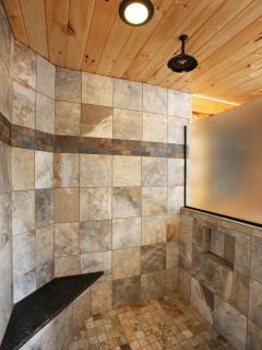 Master Bath Large Tiled Shower