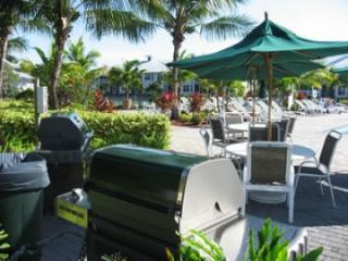 Grills for use at pool