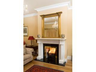 Rathellen House: Drawing room with fire place