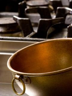 Kitchen pots