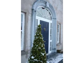 Front door in the snow .JPG