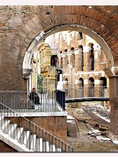 Apartment in Rome Jewish Ghetto portico d'Ottavia