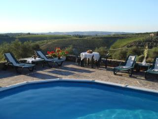 La Tinaia, Podere Patrignone - a Tuscan cottage with garden, views and pool