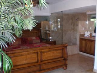 Big comfy king beds in both suites