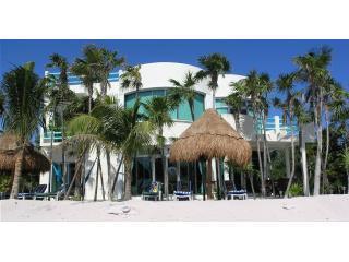 Beach view of Casa Caribbean Soul in Tankah