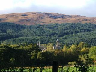 The old abbey from a distance