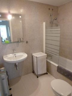 Bathroom, with sink and toilet