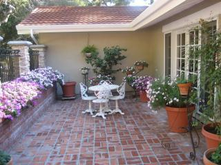 Entry Courtyard Carmel Home