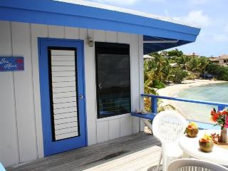 Coffee & Tea Absolute Beachfront Cottages, Virgin Gorda