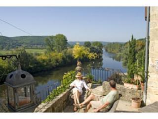 Beautiful River & 4 Chateaux views+walk to bistros, Sarlat la Canéda