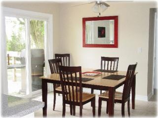 Dining Room with walkout to rear deck
