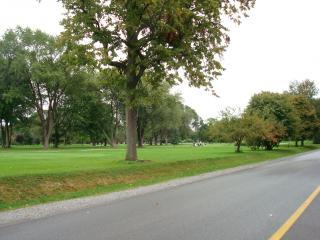 One of the many golf courses in the area
