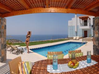 Villa: Breakfast, Pr. pool w Jacuzzi, Sauna-Gym, Rethymnon Prefecture
