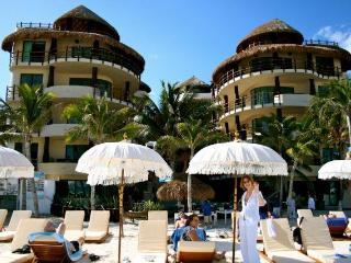 Ocean front, largest 1BR on beach at El Taj Ocean, Luxury Condo Hotel