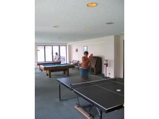 PingPong & Pool Tables ~ 7th Floor Recreation Deck