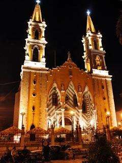 Cathedral, Mazatlan about 8 blocks