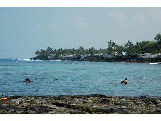 Kahalu'u Beach Park a great place to snorkel..