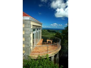 Drake's View: Voted Best View in the Caribbean, Coral Bay