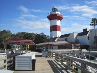 REDUCED SPRING & SUMMER WEEKS HARBOUR TOWN VILLA,SCREEN PORCH,NO STAIRS,PRIVATE!, Hilton Head