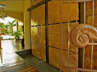 Entrance to Playa Kaan Condo complex
