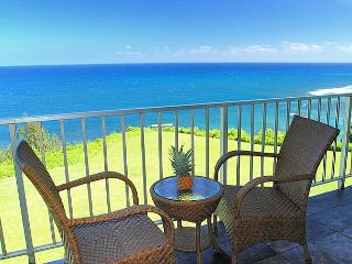 Alii Kai 5203: Perfect oceanfront views, lots of extras in this 2br/2ba, Princeville
