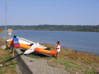 bulkhead and kayak