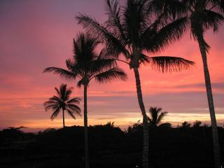 sunset A202 From our lanai